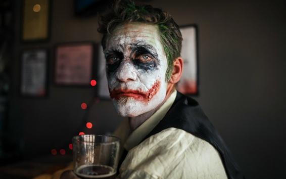 Wallpaper Mask, clown