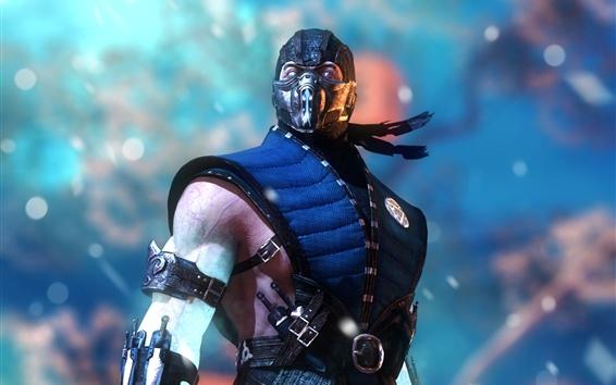 Fondos de pantalla Mortal Kombat X, ninja