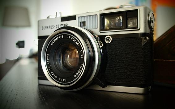 Fond d'écran Gros plan de caméra Olympus