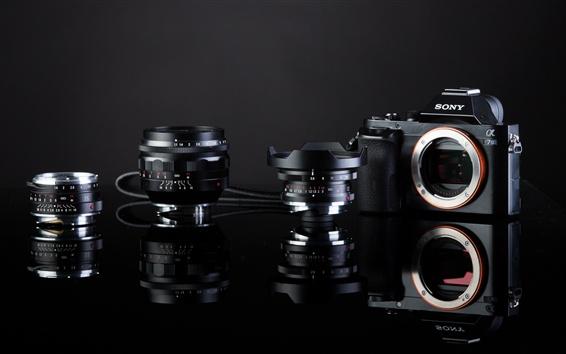 Fonds Décran Sony A7s Appareil Photo Numérique Objectif