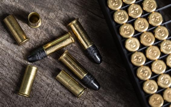 Fond d'écran Arme, munitions, balles