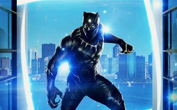 Fondos de pantalla Película de 2018, Black Panther