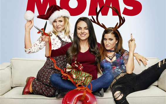 Wallpaper A Bad Moms Christmas 2017
