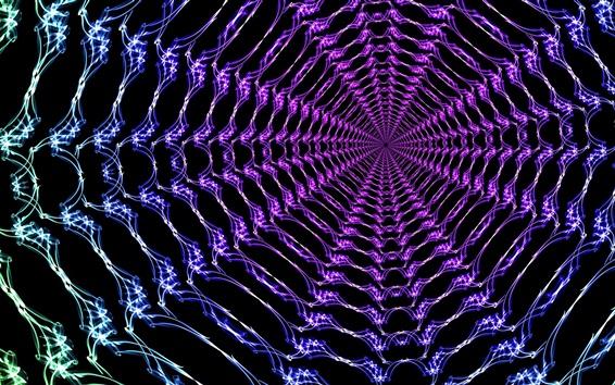 Обои Абстрактные электромагнитные волны
