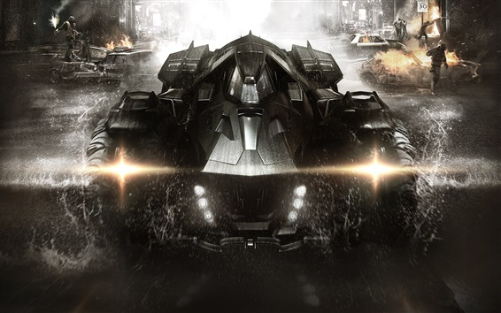 Wallpaper Batman: Arkham Knight, PC game, Chariot