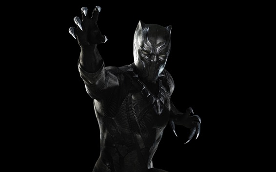 Wallpaper Black Panther 2018 3840x2160 Uhd 4k Picture Image
