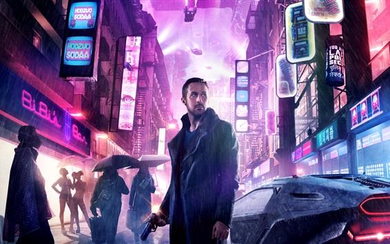 Fondos de pantalla Blade Runner 2049, Ryan Gosling, película de 2017