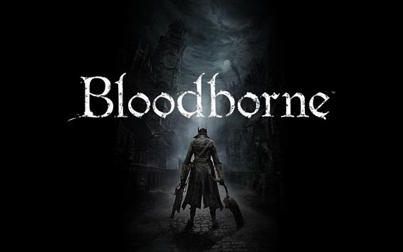 Papéis de Parede Jogos Bloodborne PS4