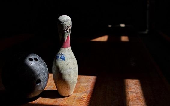 Wallpaper Bowling sports, ball