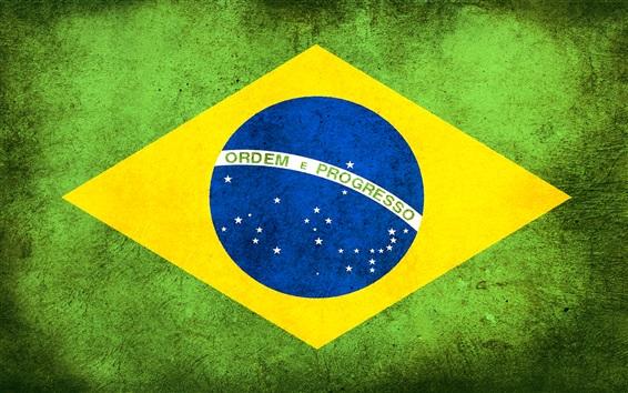 Fondos de pantalla Bandera de Brasil