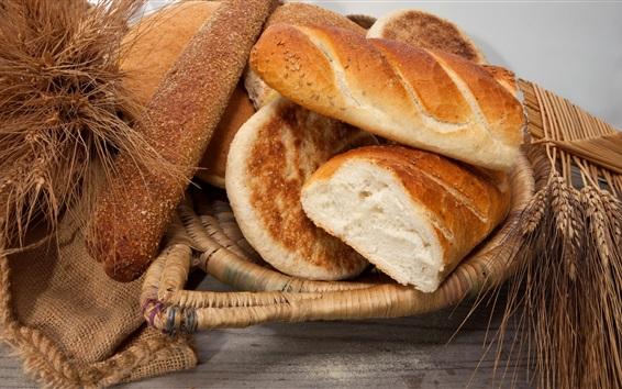 Wallpaper Bread, wheat