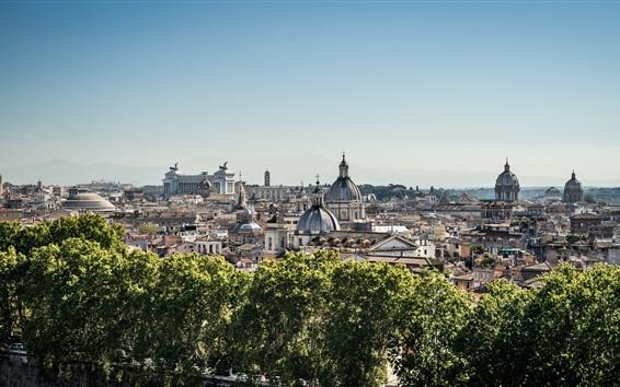 壁紙 建物、街並み、イタリア