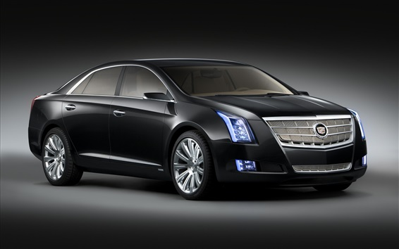 Wallpaper Cadillac black car