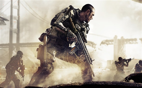 Fondos de pantalla Call of Duty: Advanced Warfare, juegos de PS4