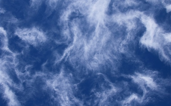 Wallpaper Cloudy sky, dusk
