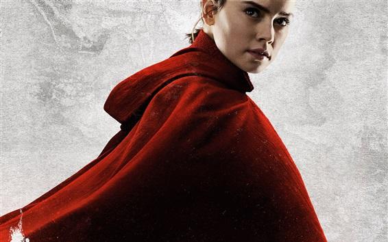 Wallpaper Daisy Ridley, Star Wars: The Last Jedi