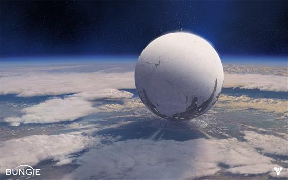 Papéis de Parede Destiny, jogo HD, planeta