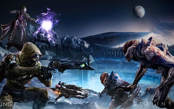 Papéis de Parede Destino, soldados, alienígenas, jogos