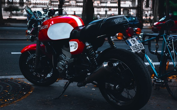 Wallpaper Ducati GT 1000 motorcycle