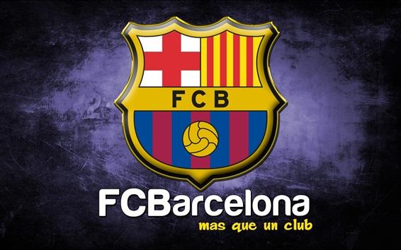 Fond d'écran Logo du FC Barcelone