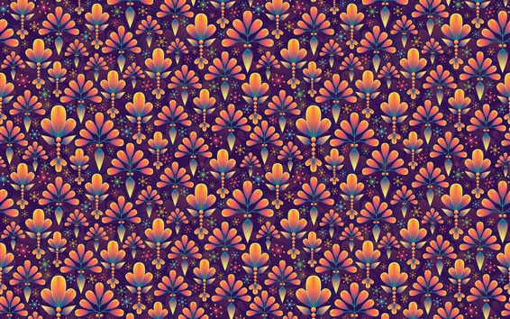 Wallpaper Flowers texture background