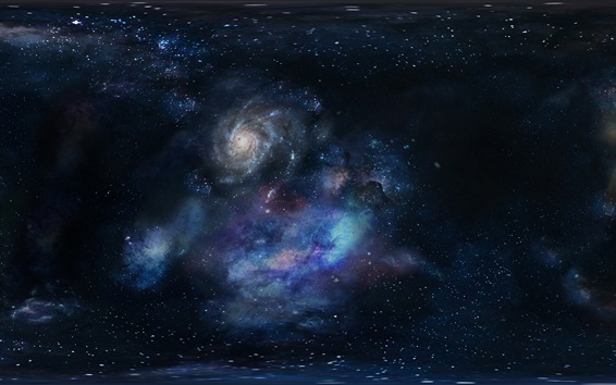Wallpaper Galaxy, universe, space, starry