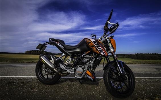 壁紙 KTMオートバイ、スポーツ