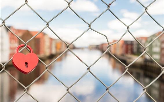Wallpaper Lock, fence