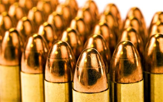 Fond d'écran Beaucoup de balles, de cuivre, d'arme