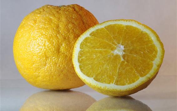 Wallpaper Oranges, fruit