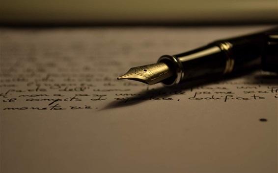 壁紙 紙、ペン