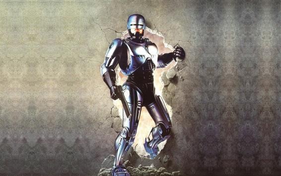 Wallpaper Robocop, wall