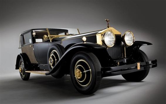Обои Классический автомобиль Rolls Royce, ретро