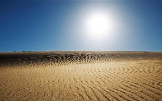Wallpaper Sand, sun, desert