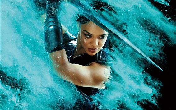 Fond d'écran Tessa Thompson, Thor: Ragnarok