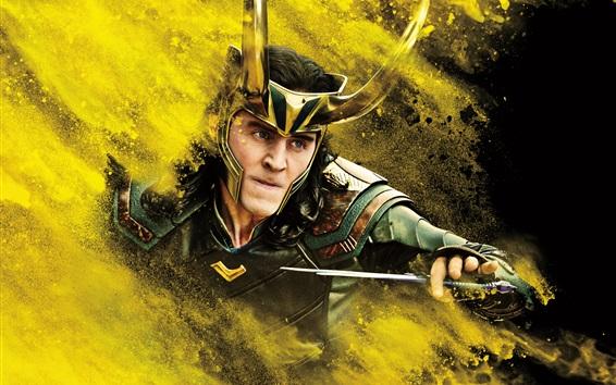Fond d'écran Tom Hiddleston, Thor: Ragnarok
