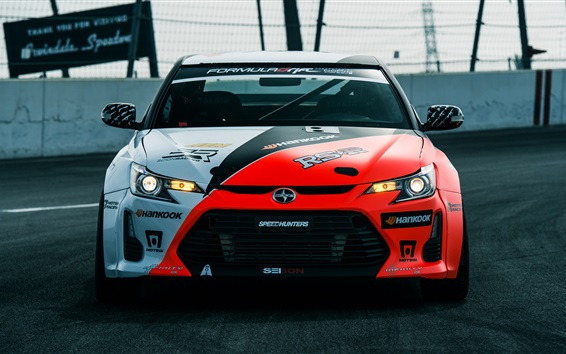 Wallpaper Toyota Scion FR-S supercar front view