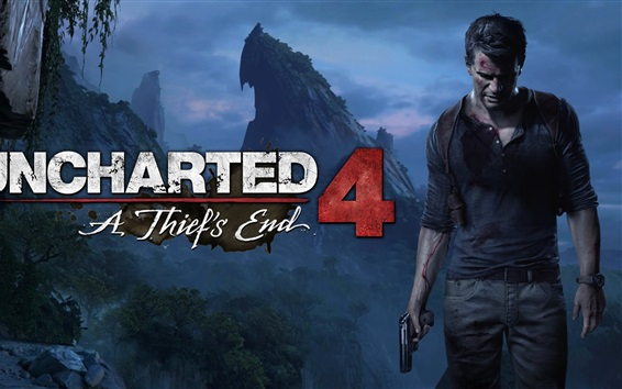 Wallpaper Uncharted 4: A Thief's End