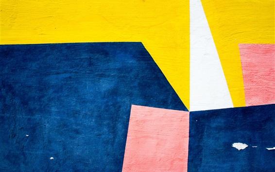 Fond d'écran Mur texture colorée, peinture
