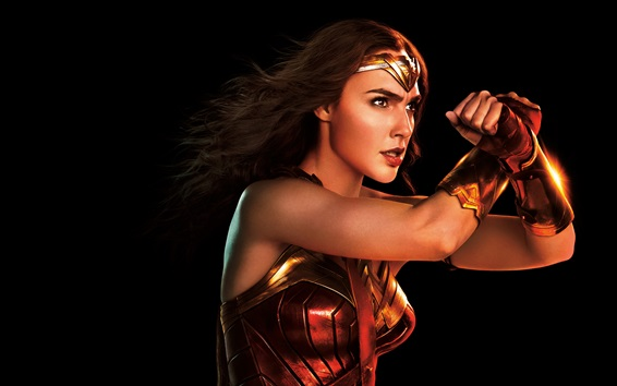 Wallpaper Wonder Woman, Gal Gadot, Justice League