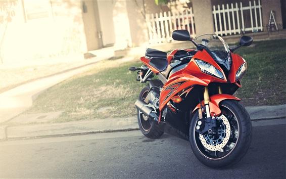 壁紙 ヤマハYZF R6オートバイ