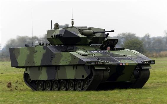 Papéis de Parede ASCOD veículo de combate de infantaria