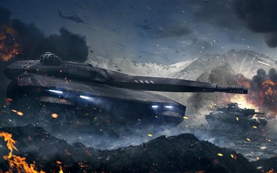 Wallpaper Armored Warfare, PC games