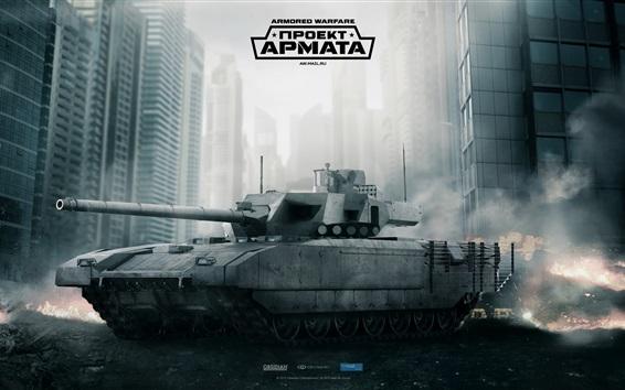 Wallpaper Armored Warfare, tank