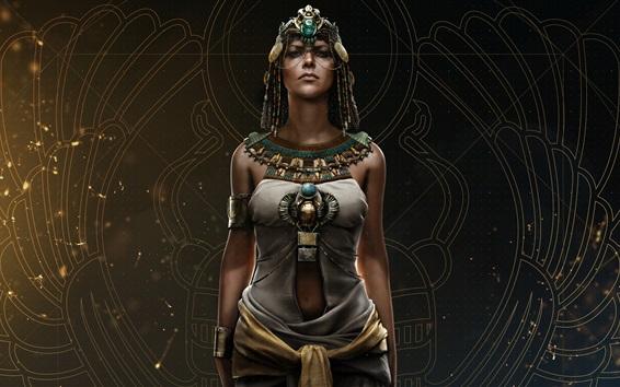 Wallpaper Assassin's Creed: Origins, Cleopatra, Ubisoft games