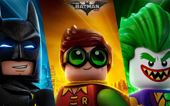 Papéis de Parede Filme de Batman, Lego