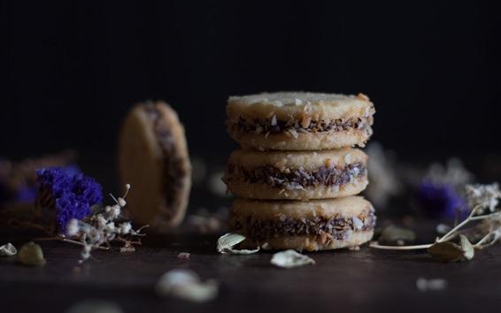 Wallpaper Biscuits, food