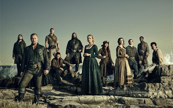 Wallpaper Black Sails, TV series