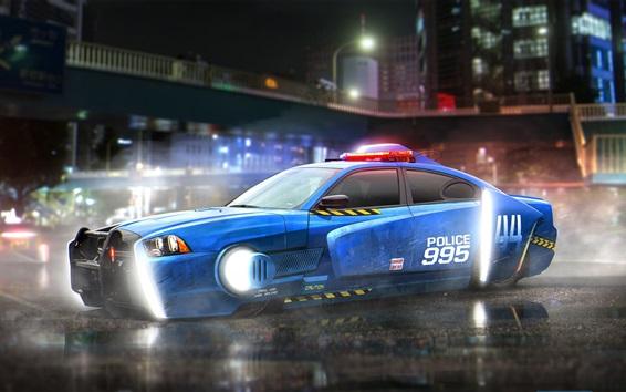 Wallpaper Blade Runner 2049, Dodge Charger police car