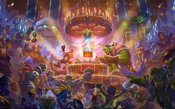 Wallpaper Blizzard, World of Warcraft, hot games